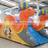 Inflatable mini camel dry slide baby water toy, chongqi inflatables Qatar children play game indoor outdoor used slides for sale