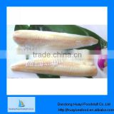 Frozen high quality pacific cod fillets skinless