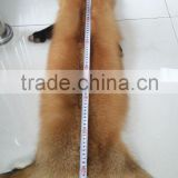 Real Silver Fur Skin / Natural Fox Fur Skin / Tanned Red Fox Fur Skin For Coat                                                                         Quality Choice