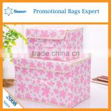motorcycle plastic oem non woven fabric foldable storage box