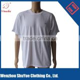 Cheap Custom Bulk blank round neck t shirt stock ,White t shirt ,cotton t shirt printing                                                                         Quality Choice