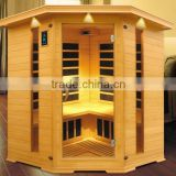 4-5 people cheapest sauna room, far infrared corner sauna room KD-W5004T