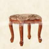 Short wooden stool (NG2907)