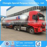 High quality 59.6m3 3-axle semi trailer lpg tank,lpg road tanker,lpg tanker for sale
