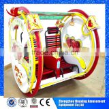 Best selling amusement park outdoor playground happy car le bar swing balance car for sale