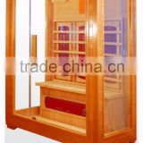 1 person low EMF hemlock far infrared sauna parts