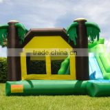 2015 Lastest High quality carton castle,Inflatable Zoo- park Sunshine jumping castle for children
