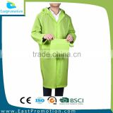 2016 FASHIONABLE ADULTHO RAINCOAT FOLDABLE WITH DRAWING HOOD WITH BUTTONS