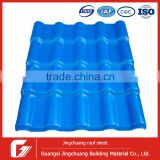 Alibaba China supplier 2.5mm and 3.0mm synthetic resin roofing tile/asa spanish roof tile/asa+pvc plastic roofing sheet