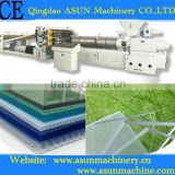PC hollow grid plate production line/machinery/extruder