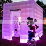 Led cube outdoor inflatable tent for party /wedding inflatable tent