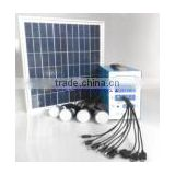 30W DC Solar Light System/ Solar Garden Lighting/ Home Solar Systems/Portable Solar Light System