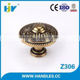 Low price classical style antique brass pulls and knobs