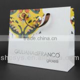 AEP 2013 New fashionable abstract art printing paper bag for famous brand