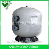 2015 Vigor popular fiberglass commercial filter,swimming pool aqua sand filter,easy install water filter