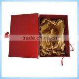 custom red paper packaging box for mooncake for for food