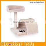 Hot Sale Pet Furniture Cat Scratcher Cheap Wholesale Cat Tree for Cats Luxury Sisal Easy to Clean