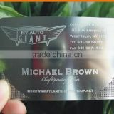 Business Metal Name Card