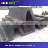 China factory marine ship boat type d rubber fender for dock