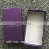 Custom china cheap kids girls mens jewelry boxes with silver stamping logo