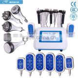 BS-86 Top Sell Cavitation Ultrasound And RF And Non Surgical Ultrasonic Liposuction 6pcs Oriented Cracking Head Beauty Machine Ultrasonic Liposuction Machine