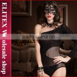 Wholesale Black Fashion Woman Body Stocking Wish Sleeve Seductive Lingerie