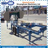 Wood Band Saw wood cutting portable electric horizontal saw sawmills