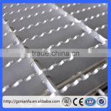 Guangzhou galvanized steel grating door mat/drainage gutter with stainless steel grating cover(Guangzhou Factory)