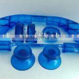 Clear Blue 7 in Repair Parts Controller Buttons for XBOX 360 Thumbsticks D-PAD RT / LT RB / LB