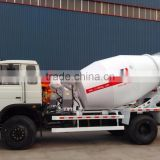 6m3 Right Rudder Concrete Mixer Truck