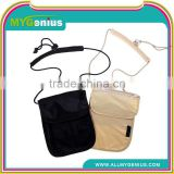 Outdoor Travel Neck Strap Pouch Wallet Bag