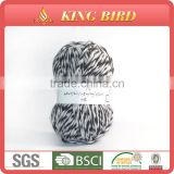 60% Acrylic 30% Nylon 10% Wool acrylic blend yarn for knitting