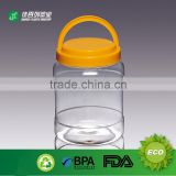 Alibaba large plastic food jar clear acrylic bulk food bin