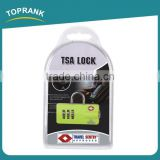 Toprank Heavy Duty Zinc Alloy Material Top Security Padlock Safety Combination Padlock Traval Digital Resettable Padlock