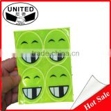 self adhesive high visibility reflective stickers for safety