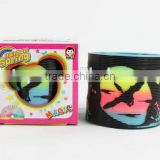 plastic magic rainbow spring toys/hot sale rainbow circle