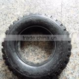 Solid rubber wheel tire 10*2.5