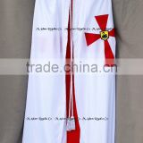 Masonic Regalia Knight and tamplar Gown ad vest