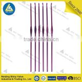 best-selling lady household knitting single-hand colorful crochet hooks