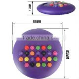 Mini cute M&M calculator Hamburge round cute customized logo color calculator
