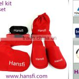 2014 new style hote sale customized airplane travel kits