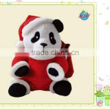 animals stuffed plush christmas soft panda toy