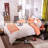 Stone Washed pure Linen Bed Linen Bedding set Bed sheet BS256