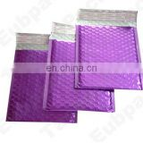 Purple aluminium foil bubble bag