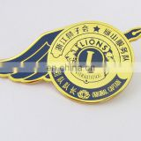 Best selling products metal aircraft pin badge for advertising