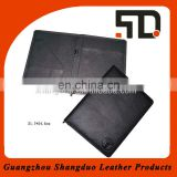 Experienced Manufacturer Custom A4 Size Zip Leather File Folder