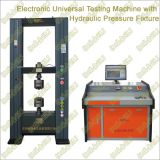 Electronic Universal Testing Machine with Hydraulic Pressure Fixture