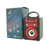 Cost-effective Portable BT Speaker with USB/TF card/AUX Rechargeable loud and High Quality Wireless Karaoke Party