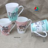 New design good quality 11oz new bone china mug