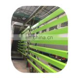 Advanced color powder coating line for aluminum doors and windows
